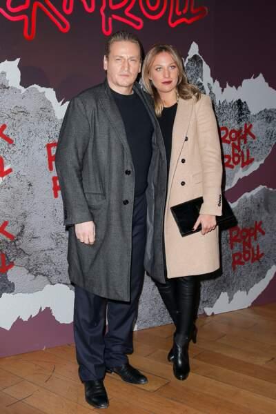 Avant-première de Rock'n Roll : Benoît Magimel et sa compagne Nikita Lespinasse