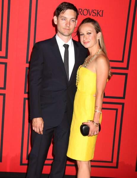 Tobey Maguire et sa femme Jennifer Meyer-Maguire