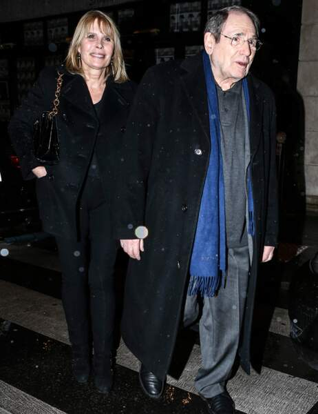 Robert Hossein et Candice Patou