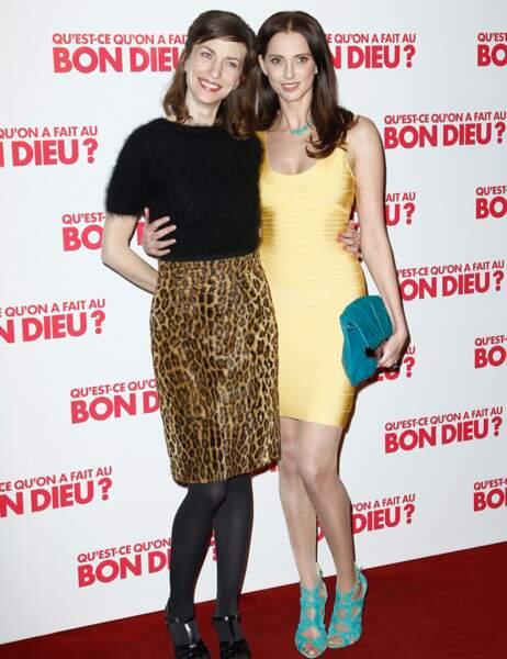 Emilie Caen et Frédérique Bel, deux sœurs à l'écran