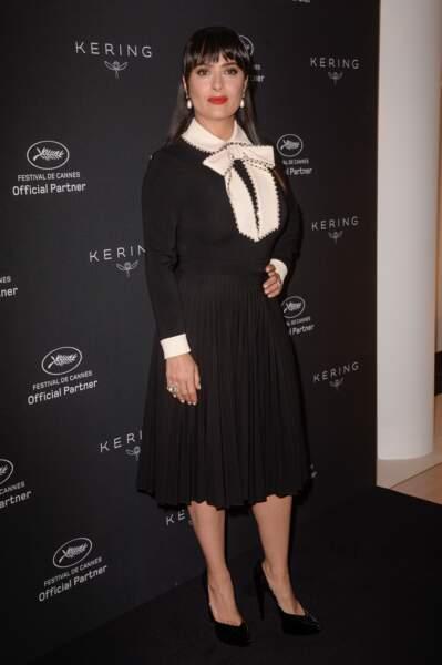 Festival de Cannes 2017 : non c'est pas Salma Hayek. C'est MAÎTRESSEEEEEEEE