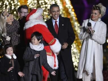 La Maison Blanche aux couleurs de Noël !