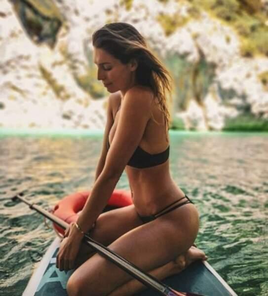 Les Miss en vacances : Laury Thilleman