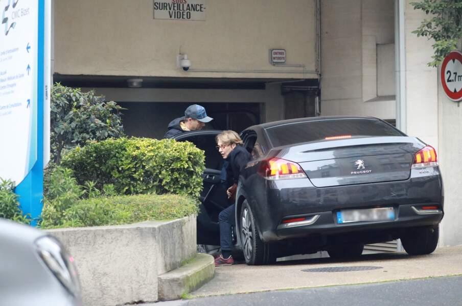 Johnny Hallyday hospitalisé - David et Nathalie Baye ensemble pour lui rendre visite