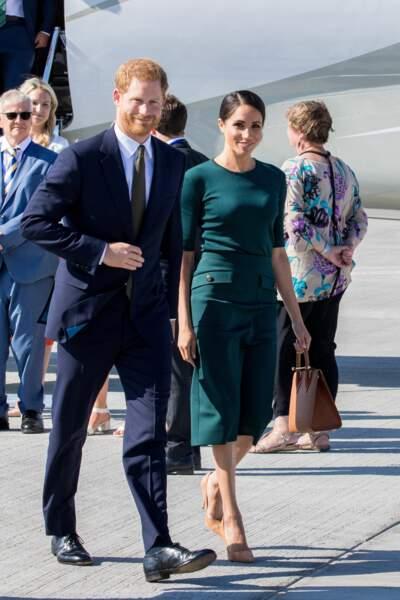 Meghan Markle et le prince Harry en visite officielle en Irlande ce mardi 10 juillet 2018
