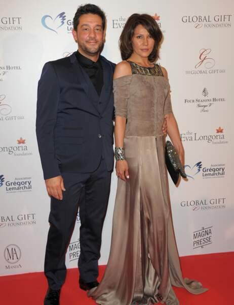 Titoff et son épouse Tatiana Junca