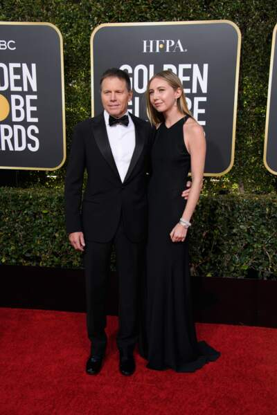 76ème cérémonie des Golden Globes : Bill Gerber et Emma Gerber