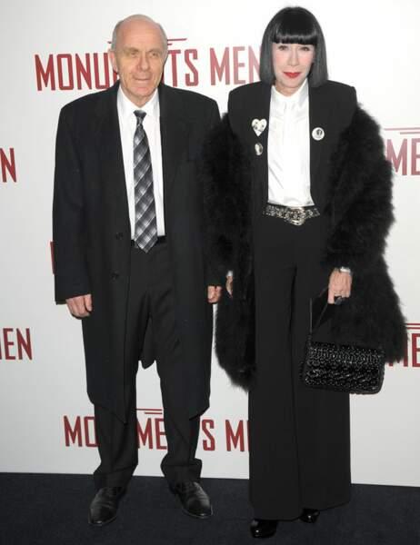 Chantal Thomass et son mari