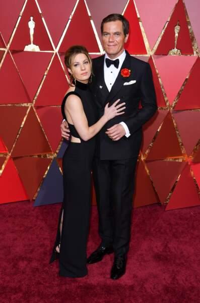 Les plus beaux couples des Oscars 2017 : Kate Arrington et Michael Shannon