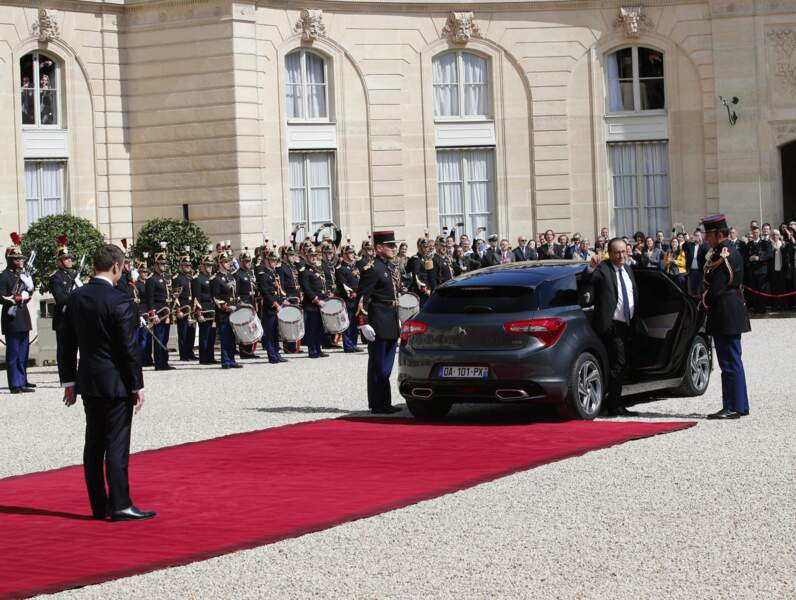 François Hollande s'en va