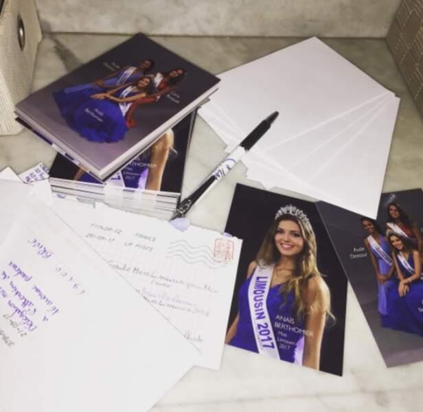 Election de Miss France 2018 - Anaïs Berthomier est Miss Limousin 2017
