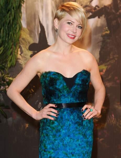 Michelle Williams, 33 ans, récemment à l'affiche du Monde fantastique d'Oz