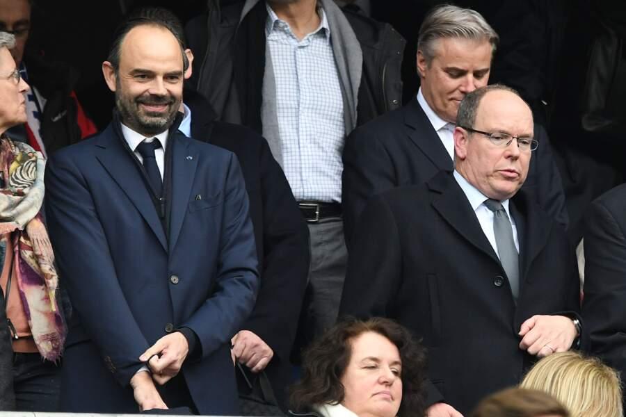 Edouard Philippe et Albert II de Monaco
