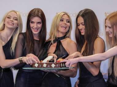 Hedi Klum glamour et gourmande pour Germany's Next Topmodel