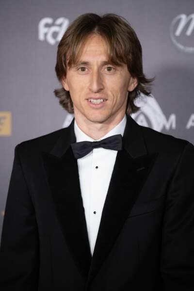 Luka Modric à la cérémonie du 63e Ballon d'Or