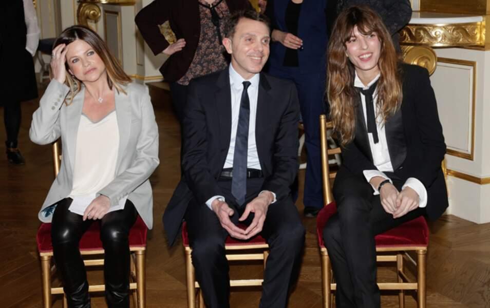 Charlotte Valandrey, Giorgio Blanchi et Lou Doillon