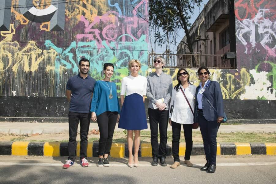 Toujours aussi classe pour la découverte du street art dans les rues de New Delhi