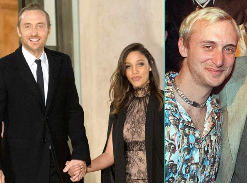 David Guetta aujourd'hui à 48 ans et à 23 ans, l'âge actuel de sa compagne Jessica Ledon