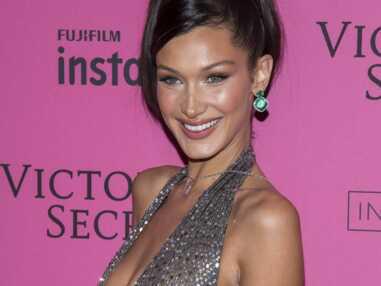 VOICI PHOTOS Bella Hadid à l'after-party de Victoria's Secret : cette robe transparente qui ne cache RIEN