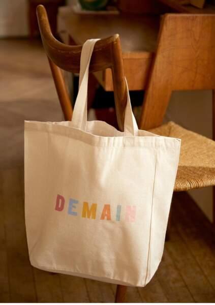 """Tote Bag """"Demain"""", Sezane, 5€"""