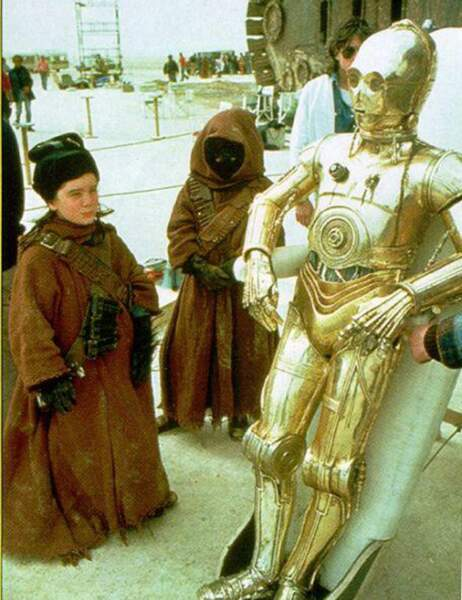 Star Wars : les photos inédites du tournage