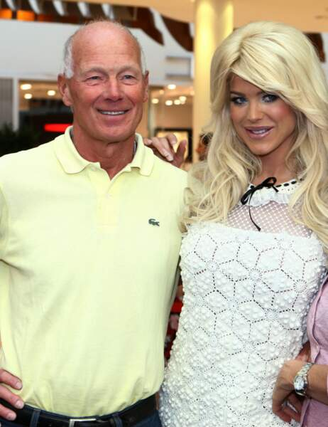 Victoria Silvstedt et son papa
