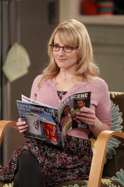 Melissa Rauch joue Bernadette, la femme d'Howard