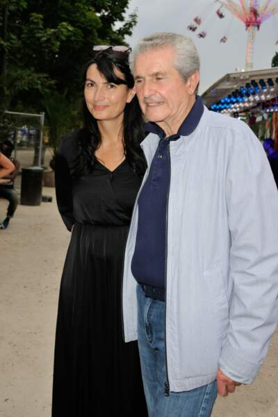 Claude Lelouch et sa compagne Valérie Perrin