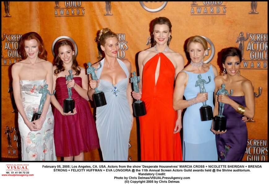 Les actrices de Desperate Housewives, sauf une...