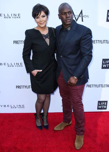 The Daily Front Row's Fashion Awards : Kris Jenner et son compagnon Corey Gamble