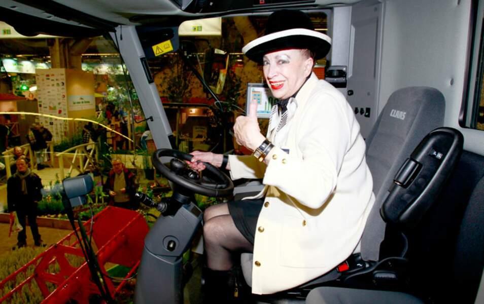 Geneviève de Fontenay au Salon de l'agriculture