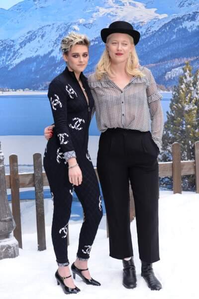 au défilé Chanel automne-hiver 2019-2020 pour un dernier hommage à Karl Lagerfeld