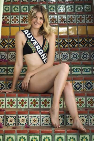Miss Auvergne 2017 - Marie-Anne Halbwachs