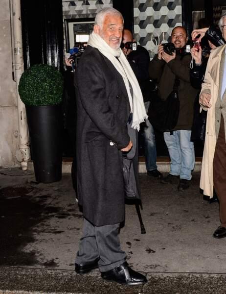 Le soir, il a dîné avec ses proches au Veramente, un restaurant italien