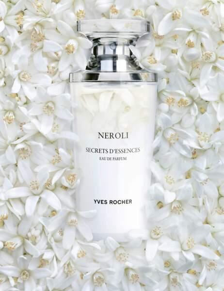 Neroli Secrets d'essence d'Yves Rocher : parfum en grande distribution