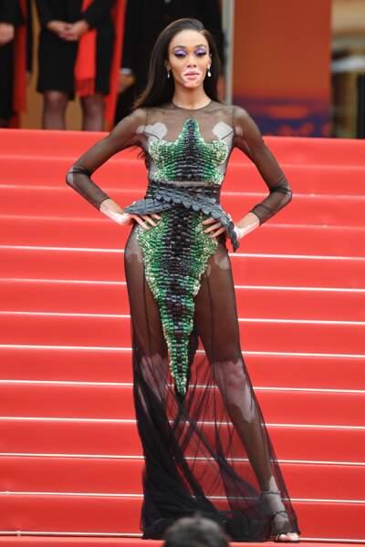 Winnie Harlow au Festival de Cannes 2019