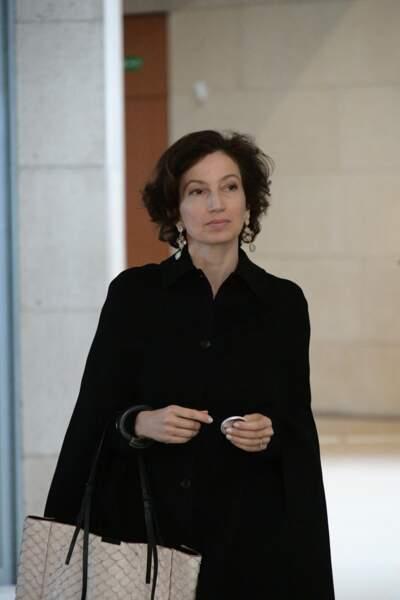 Audrey Azoulay à l'hommage à Agnès Varda
