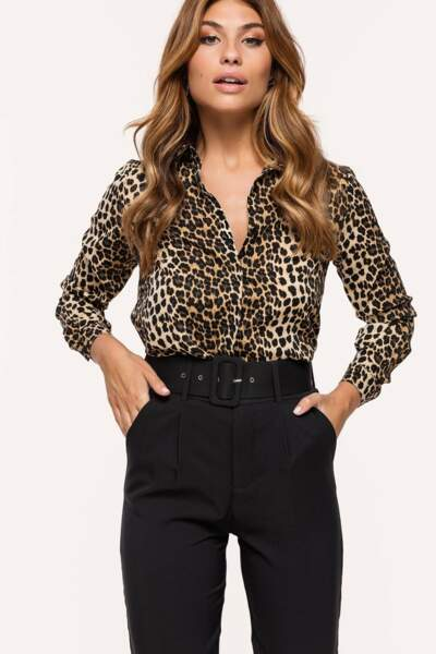 Blouse léopard, Loavies, 34,99€