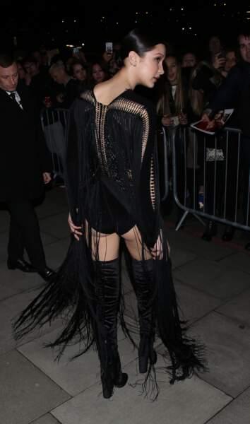 Et puis, Bella Hadid s'en est allée...