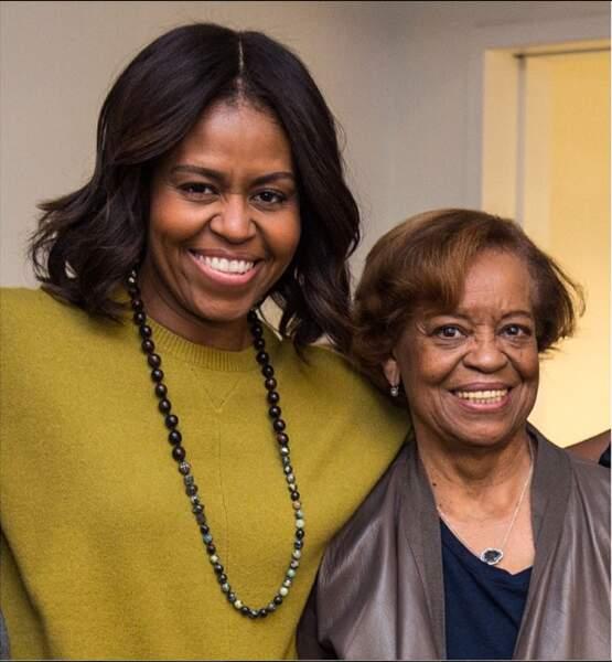 Michelle Obama et sa mère