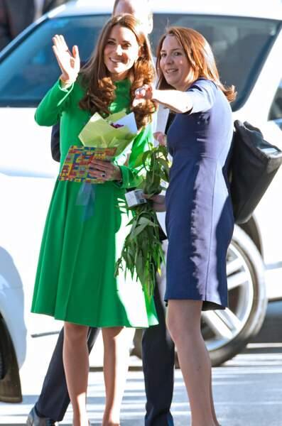 Rebecca Deacon a travaillé pendant cinq ans aux côtés de Kate Middleton