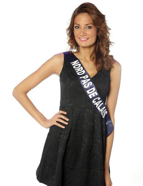 Miss Nord Pas de Calais - Gaëlle Mans, 23 ans, 1m80