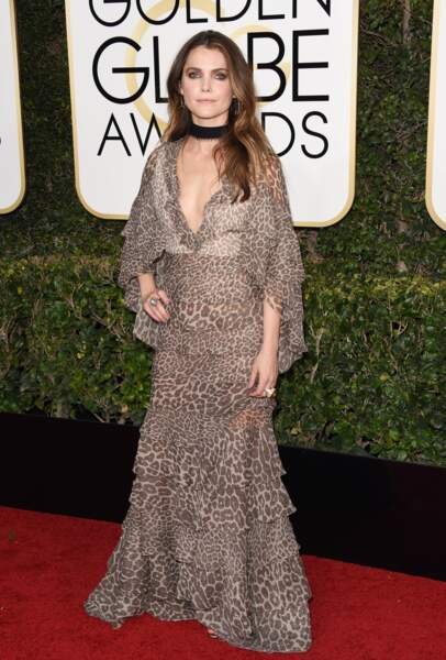 Golden Globes 2017 : Keri Russell en Jacob & Co