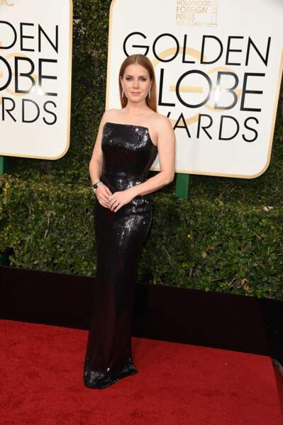 Golden Globes 2017 : Amy Adams en Tom Ford