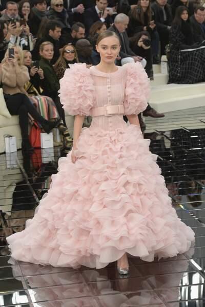 Ces fils et filles de stars qui défilent pour les créateurs - Lily-Rose Depp est la fille de...