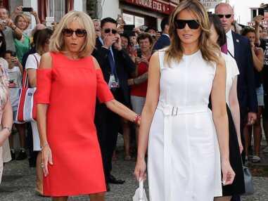 PHOTOS Brigitte Macron : en robes courtes, elle fait sensation auprès des autres premières dames