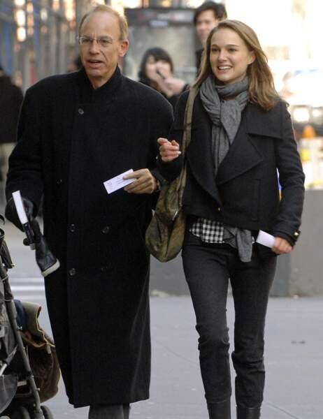 Natalie Portman et son papa