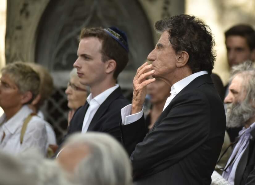 Obsèques de Claude Lanzmann au cimetière du Montparnasse : Jack Lang