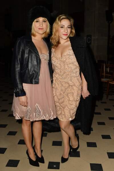 Fashion Week Haute Couture : Bérengere Krief et Marilou Berry étaient assorties