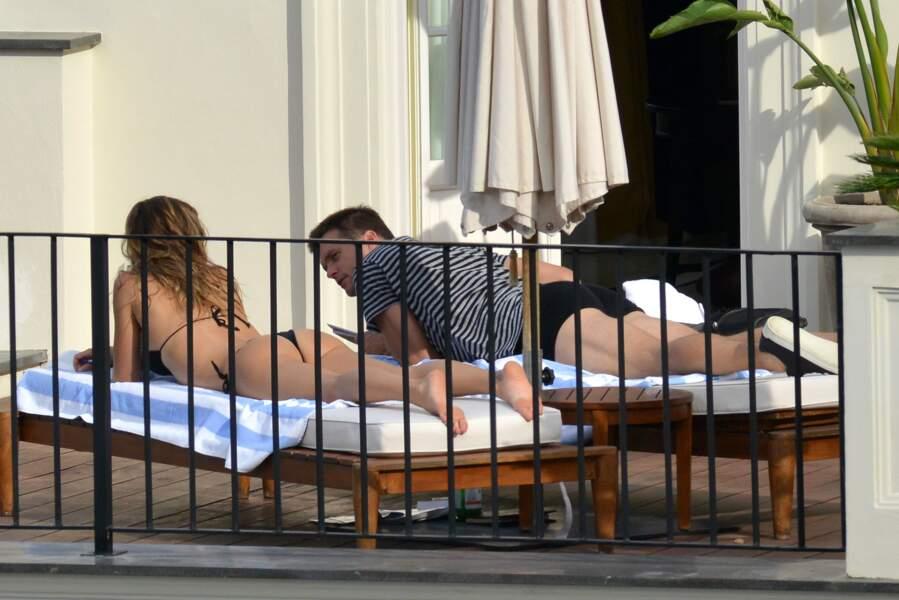 """Gisele Bünchen et son mari Tom Brady : """"On n'est pas bien là ? Sans les mioches !"""""""